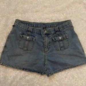 Ralph Lauren Button Pocket Jean Shorts 12